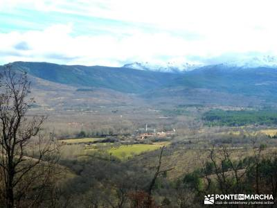 Carro del Diablo - Valle del Lozoya; presillas de rascafria pueblos de madrid embalse